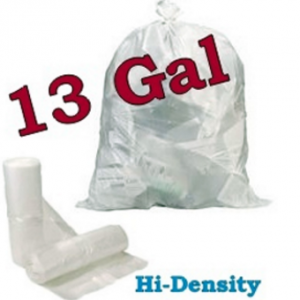 Garbage bags 13 gallon