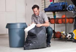 Garbage bags 30 gallons