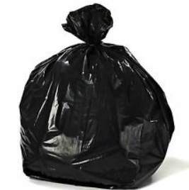 Garbage bags 4 gallons