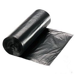 black-trash-bag